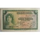 Cinco pesetas