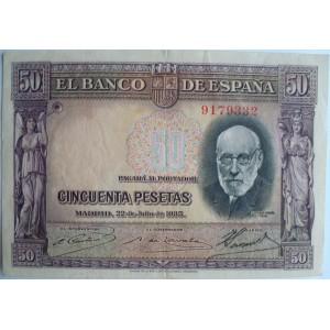50 pesetas