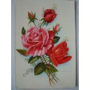 Postal rosas
