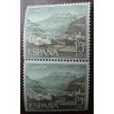 Bloque de 2 sellos de Turismo (15cts)