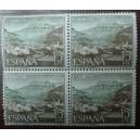 Bloque de 4 sellos de Turismo (15cts)