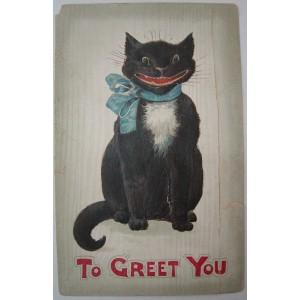 "Postal ""To Greet You"""