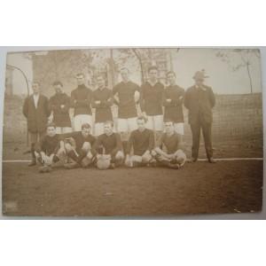 Foto postal de antiguo club de futbol