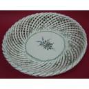 Plato de cerámica de cordoncillo