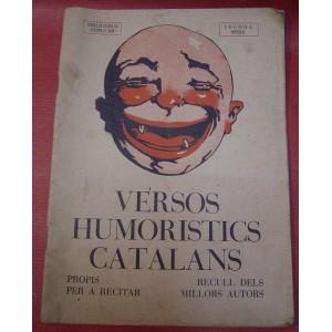 Versos humoristics catalans