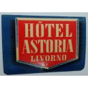 Etiqueta, Hotel Astoria Livorno