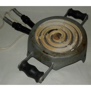 Hornillo eléctrico, 125 v.