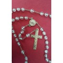 Antiguo rosario de cristal, primer cuarto del siglo XX